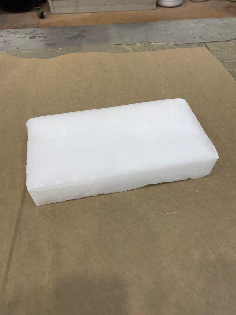 Blocco ghiaccio secco