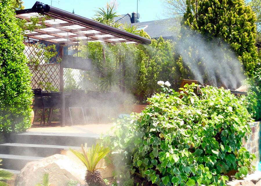 Impianti antizanzare di nebulizzazione fissa